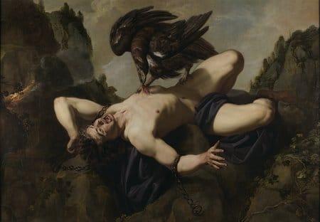 La torture de Prométhée, le mythe de Prométhée