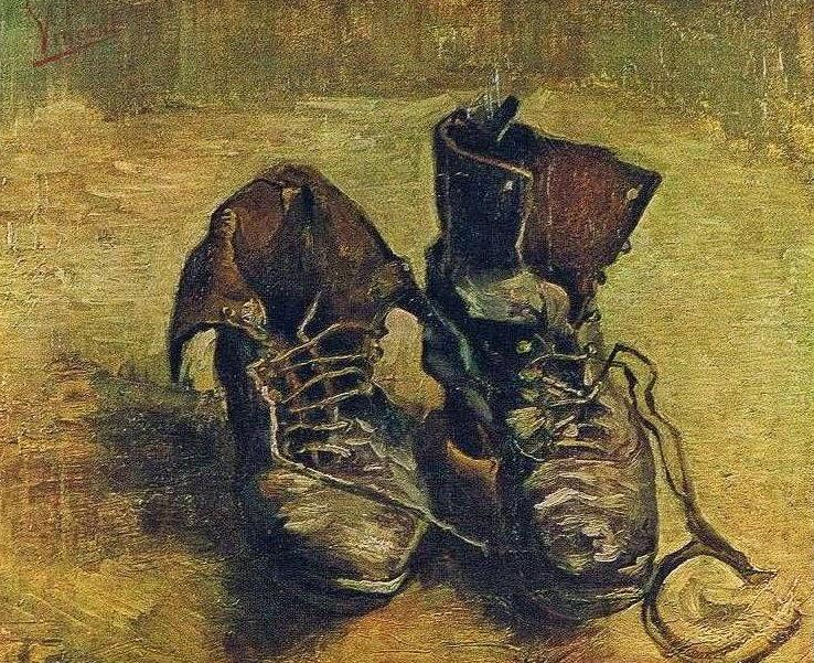 Van Gogh A Pair Of Shoes Heidegger
