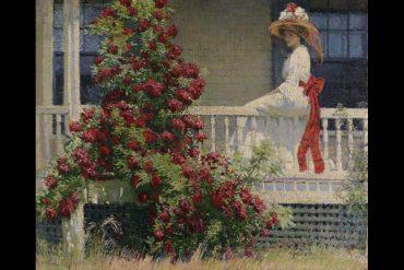 Philip Leslie Hale, Crimson Rambler, ca. 1908