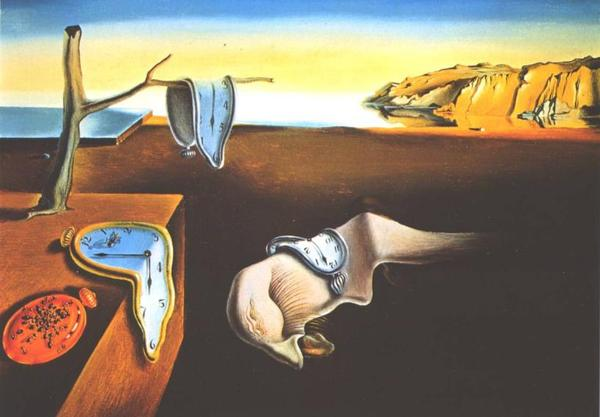 persistance de la mémoire Dali