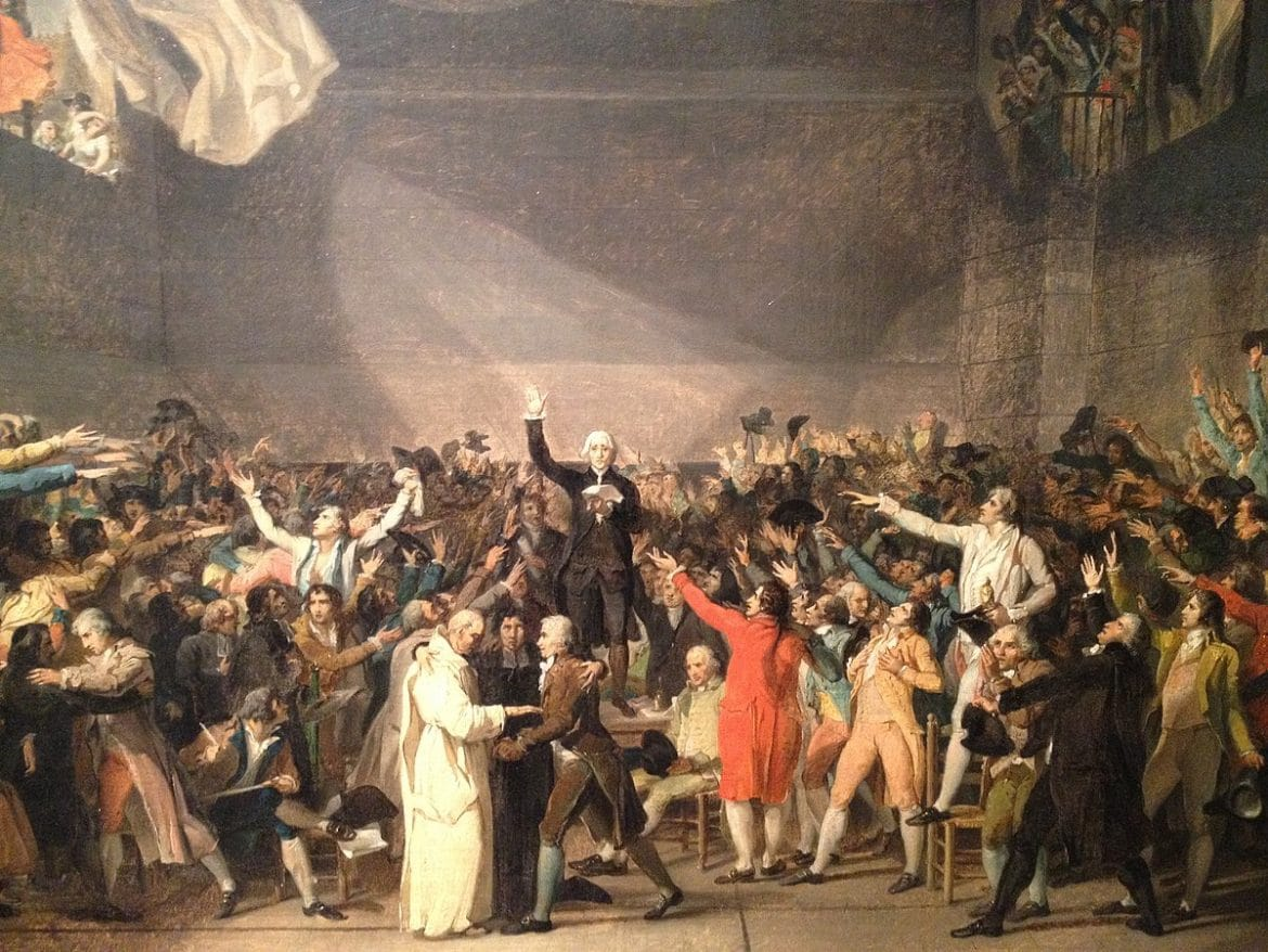 Jacques Louis David, Le Serment du Jeu de Paume