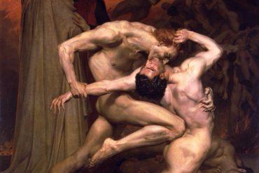 Dante et Virgile (Bouguereau, 1850)