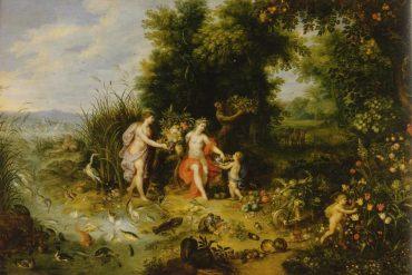 Jan Bruegel - Allegorie de la Terre et de l'Eau - 1620