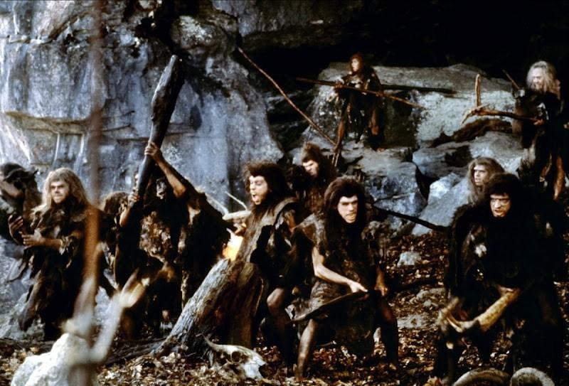 Image tirée de la Guerre du Feu, Jean-Jacques Annaud - 1981